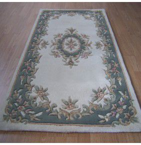 Mahal Aubusson - Cream Green