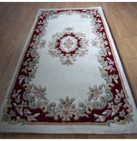 Mahal Aubusson - Cream Red
