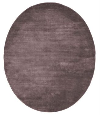 Linie Momento Oval Rugs - Bordeaux