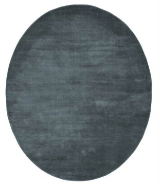 Linie Momento Oval Rugs - Midnight