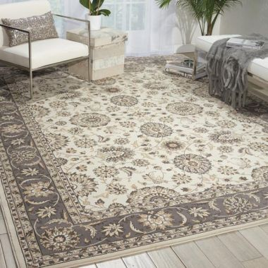 Persian Crown - PC002 Ivory / Grey