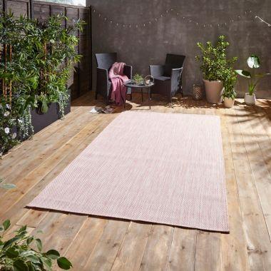 Pop Rose Pink Outdoor rug