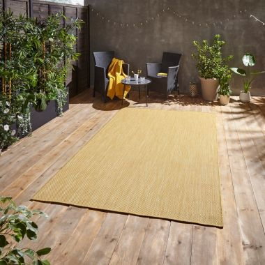 Pop Yellow Outdoor rug