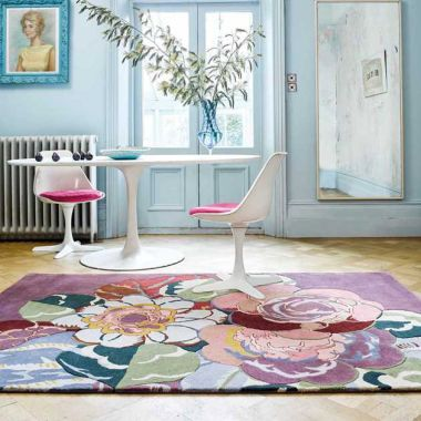 V&A Rosa Rugs In Pink