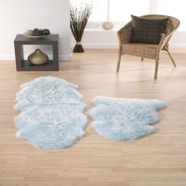 Sheepskin - Duck Egg Blue