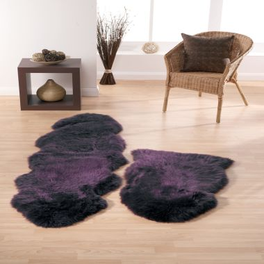 Sheepskin In Plum