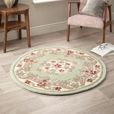 Shensi Circle Chinese Rugs - Green