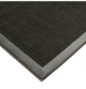 Sisal - Black With Grey Border