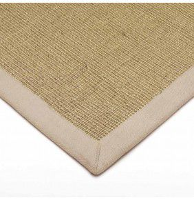 Sisal - Linen With Linen Border