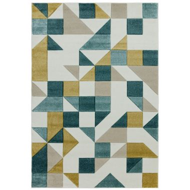 Sketch SK03 Shapes Green Rugs