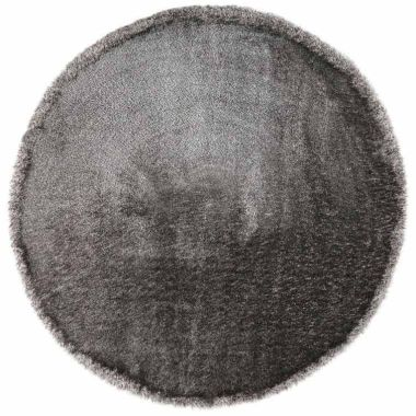 Esprit Spa Round Rugs In Silver