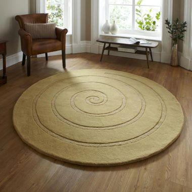 Spiral - Gold Round
