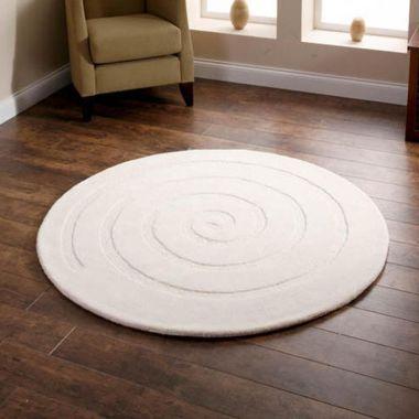 Spiral - Ivory Circle