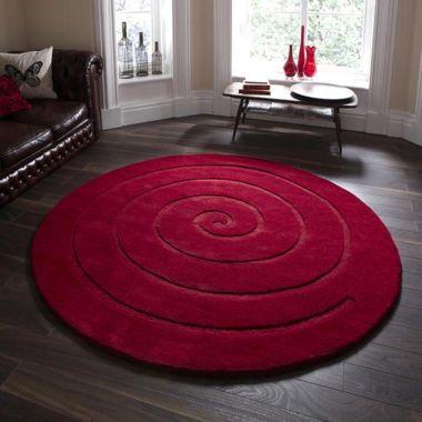 Spiral - Red Round