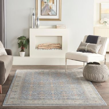 Starry Nights Rugs in Light Blue by Nourison STN08