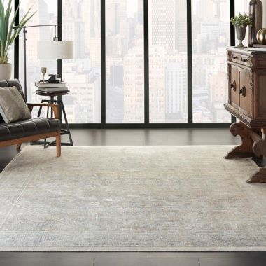Starry Nights Rugs in Cream / Grey by Nourison STN02