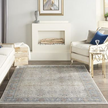 Starry Nights Rugs in Grey by Nourison STN08