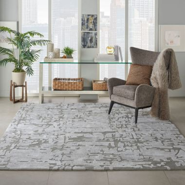 Symmetry Rugs in Ivory / Taupe SMM03
