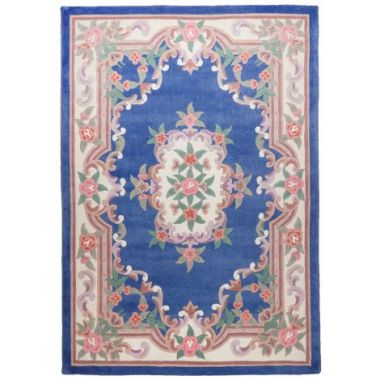 Ming Dynasty Chinese Rug in Blue