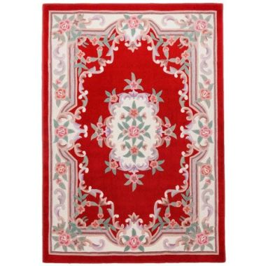 Ming Dynasty Chinese Rug in Red