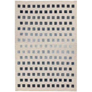 Theo Squares Silvery Rugs