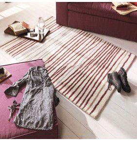 Tom Tailor - Easy Stripes Cream & Violet