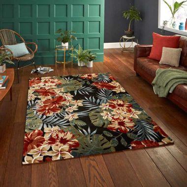 Tropics - 6096 Black / Multi
