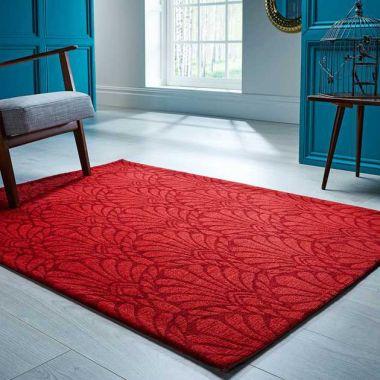 V&A Rhapsody Rugs In Red