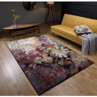 Verona Floral Rugs in Design 8128X