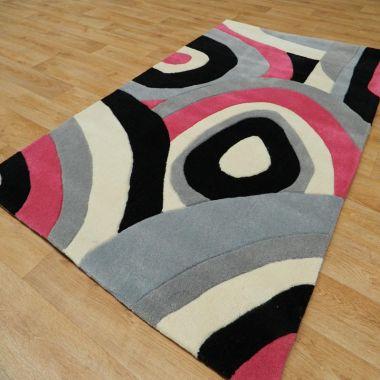 Picasso Whirl Zulu - Fuchsia