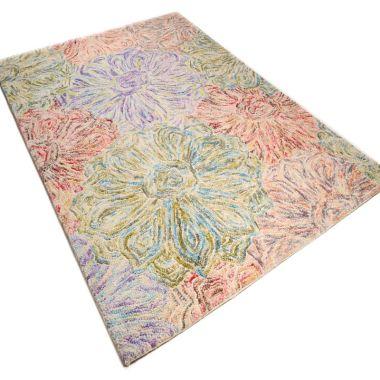 Wool Design - Floral Pastel