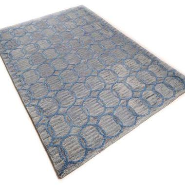Wool Design - Circles Grey